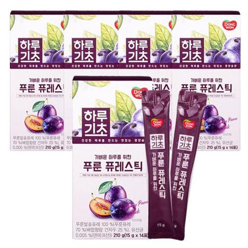[동원] 하루기초 푸룬 퓨레스틱 (15gx14포) X 5개