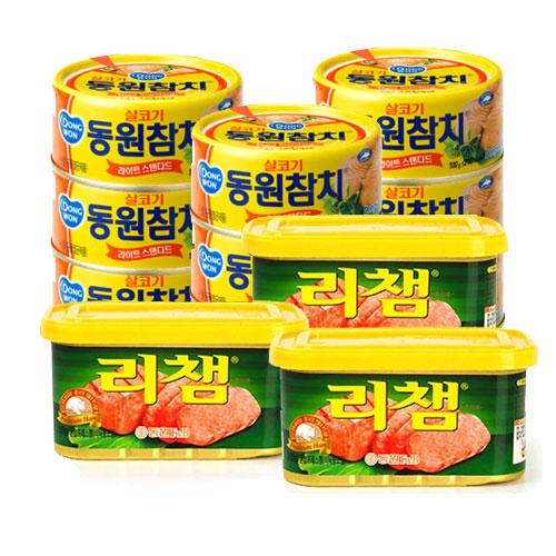 [동원] 라이트스탠다드150g*12캔+리챔200g*3캔