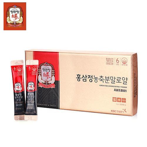 [정관장] 홍삼정 농축분말 로얄 (2g*30포)